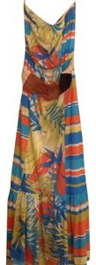 Blue, orange, yellow... Maxi Dress by Maurices