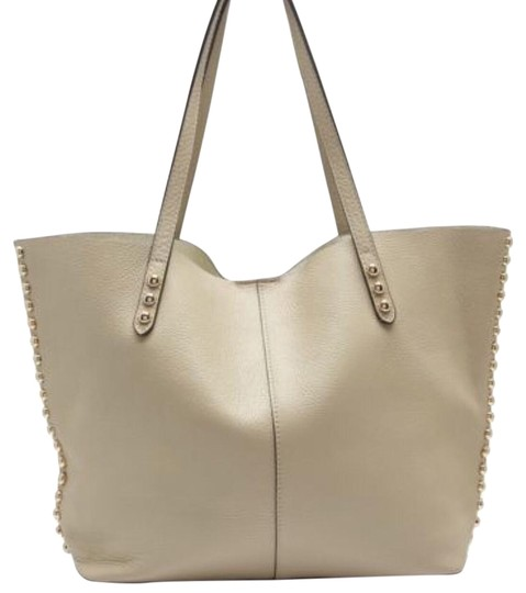 Preload https://img-static.tradesy.com/item/19353043/rebecca-minkoff-unlined-khaki-leather-tote-0-1-540-540.jpg
