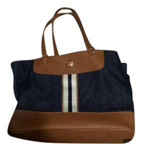 Tommy Hilfiger Blue and brown Travel Bag