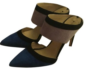 Via Spiga Black, Blue, Purple Pumps