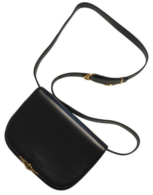 Item - Sapphire Navy Leather Clutch