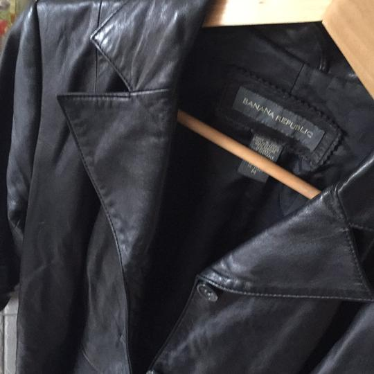 chic Banana Republic Leather Jacket - 90% Off Retail