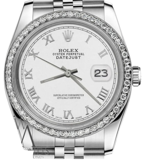 Preload https://item4.tradesy.com/images/rolex-men-s-36mm-datejust-white-color-roman-numeral-dial-watch-19353468-0-1.jpg?width=440&height=440