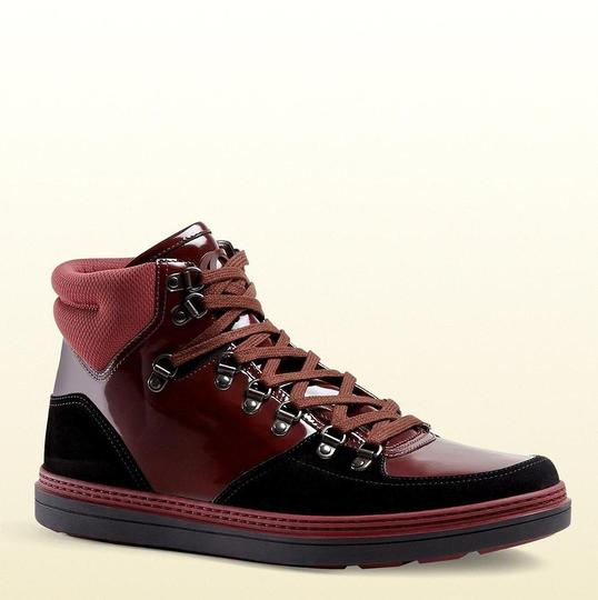 Preload https://item2.tradesy.com/images/gucci-dark-red-men-s-suede-contrast-high-top-368496-1078-size-10-gus-105-shoes-19353476-0-0.jpg?width=440&height=440