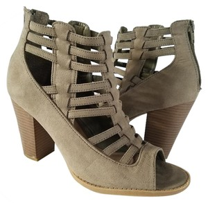 Guess Ankle Bootie Faux Suede grey sage Boots