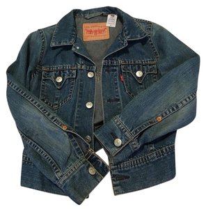 Levi's Blue Denim Womens Jean Jacket