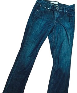 Old Navy Classic Rise Dark Wash Free Shipping Boot Cut Jeans-Dark Rinse