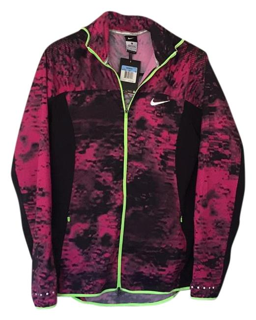 Preload https://item5.tradesy.com/images/nike-pink-black-w-neon-trim-running-activewear-jacket-size-8-m-29-30-19353564-0-1.jpg?width=400&height=650