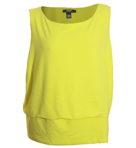 Alfani Top Yellow