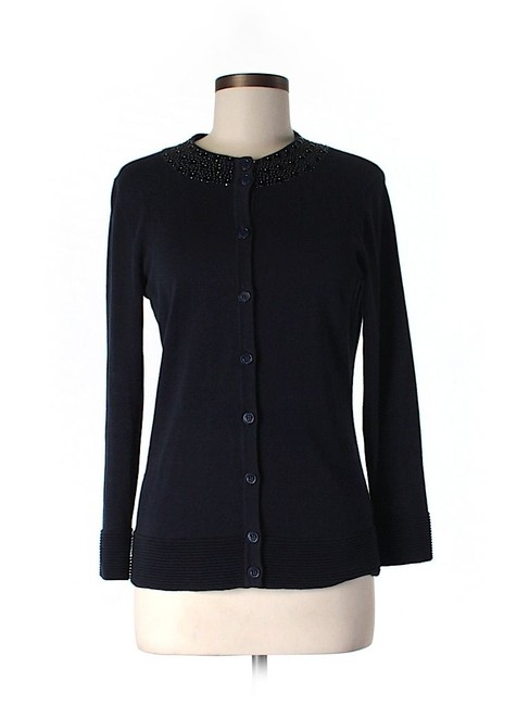 Preload https://item1.tradesy.com/images/rachel-roy-navy-embellished-cardigan-size-6-s-19353710-0-0.jpg?width=400&height=650