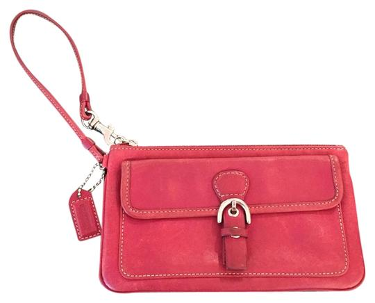 Preload https://item3.tradesy.com/images/coach-red-leather-wristlet-19353832-0-1.jpg?width=440&height=440