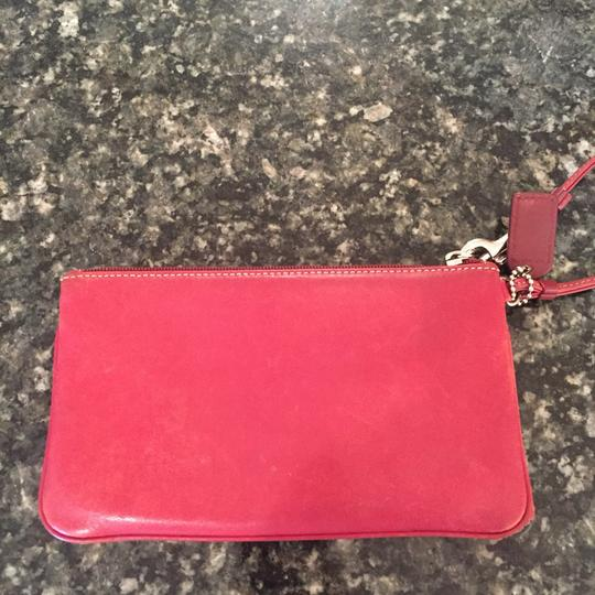 Coach Wristlet in Red