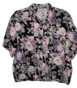 Try 1 Button Down Shirt Floral