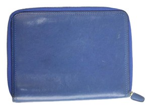 Coach Blue Zip Around Wallet 29COA901