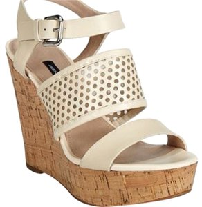 French Connection Cream Wedges