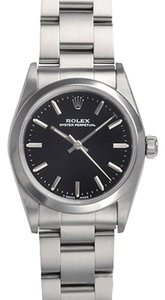 Rolex Rolex Ladies Oyster Perpetual Stainless Steel Midsize Watch 67480