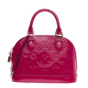 Louis Vuitton Vernis Satchel in Indian rose Pink
