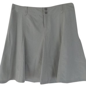 Athleta Stretch New Skort Skirt Khaki Beige