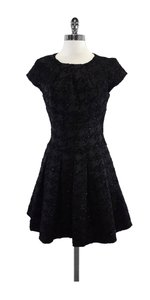 Ted Baker short dress Black Sparkly Houdstooth Short Sleeve on Tradesy
