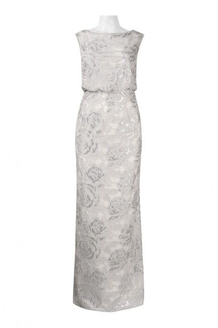 Adrianna Papell Sequin Gown Dress