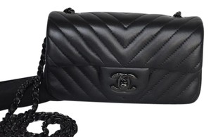 Chanel Quilted Extra Mini Cross Body Bag