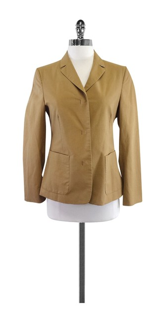 Preload https://item3.tradesy.com/images/burberry-tan-cotton-blend-size-4-s-19354507-0-0.jpg?width=400&height=650