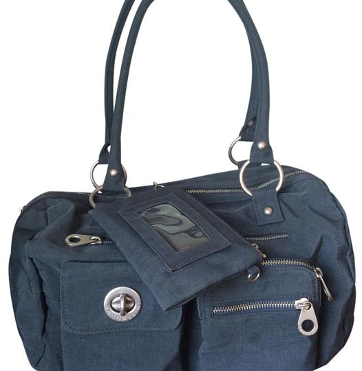 Preload https://img-static.tradesy.com/item/19354514/baggallini-gray-water-resistant-fabric-satchel-0-1-540-540.jpg
