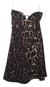 Lovely Day short dress Leopard on Tradesy