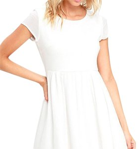 Lulu*s short dress White on Tradesy