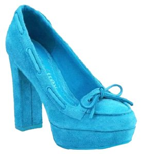 Sperry Turquoise Wedges