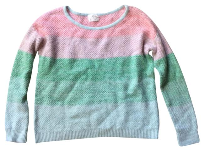 Preload https://item3.tradesy.com/images/pins-and-needles-pastel-striped-rabbit-hair-sweaterpullover-size-12-l-19354572-0-1.jpg?width=400&height=650