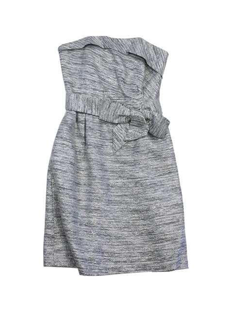 Preload https://item2.tradesy.com/images/kate-spade-silver-metallic-striped-strapless-mini-short-casual-dress-size-6-s-19354681-0-0.jpg?width=400&height=650