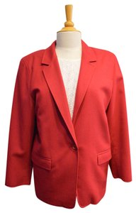 Max Mara Elliott Consignment Jacket Designer Consignment Red Blazer