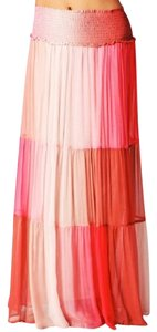 Of Two Minds Maxi Skirt Cherry