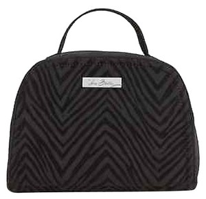 Vera Bradley Travel Jewelry Pouch Classic Black & Rosewood Travel Bag