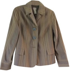 J. Jill Dark Taupe background Blazer