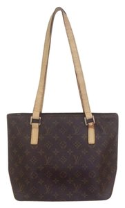 Louis Vuitton Vintage Monogram Leather Shoulder Bag