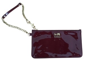 Coach Coach Patent Leather Wristlet