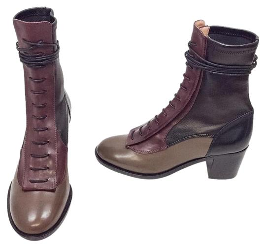 Preload https://item3.tradesy.com/images/laurence-dacade-wineblackbrown-inde-multi-lace-up-leather-ankle-bootsbooties-size-us-65-regular-m-b-19354877-0-2.jpg?width=440&height=440