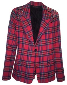 Betsey Johnson Plaid Blazer