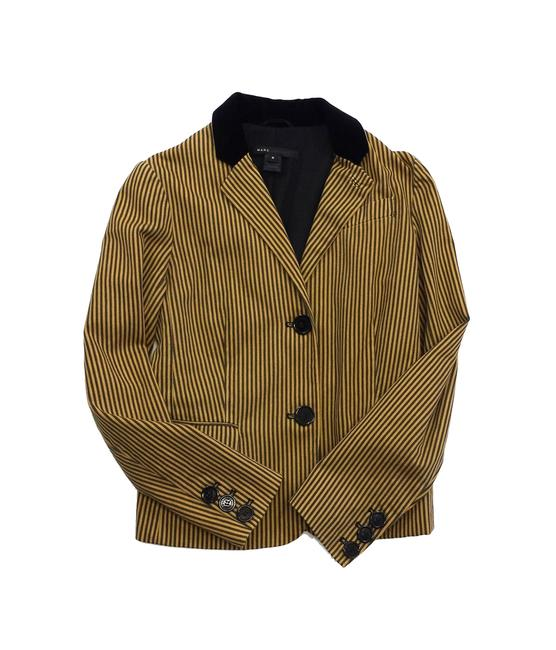 Preload https://img-static.tradesy.com/item/19355016/marc-jacobs-mustard-yellow-and-grey-striped-cotton-size-6-s-0-0-650-650.jpg