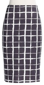 Saks Fifth Avenue Skirt Black/White