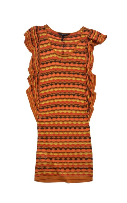 Preload https://item3.tradesy.com/images/bcbgmaxazria-orange-and-brown-scalloped-knit-above-knee-short-casual-dress-size-00-xxs-19355047-0-0.jpg?width=400&height=650