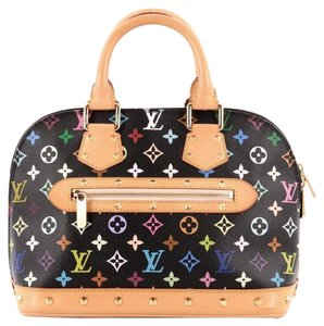 Louis Vuitton Alma Canvas Satchel