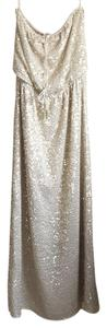 Gold with sequence Maxi Dress by Calypso St. Barth