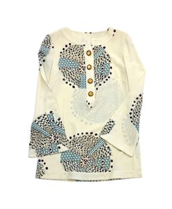 Tory Burch Multi Color Print Tunic