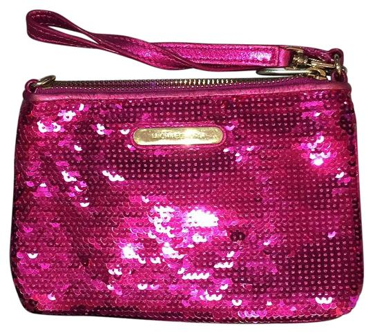 Preload https://img-static.tradesy.com/item/19355266/michael-michael-kors-hot-sequinleather-mini-evening-clutch-pink-leathersequins-wristlet-0-1-540-540.jpg