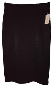 Rachel Roy Blody Con Skirt Black