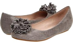 Chanel Juicy Couture Gray Flats