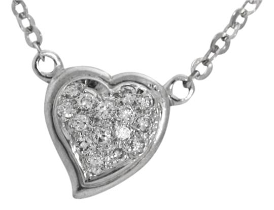 Preload https://item1.tradesy.com/images/statement-white-gold-heart-necklace-19355435-0-1.jpg?width=440&height=440
